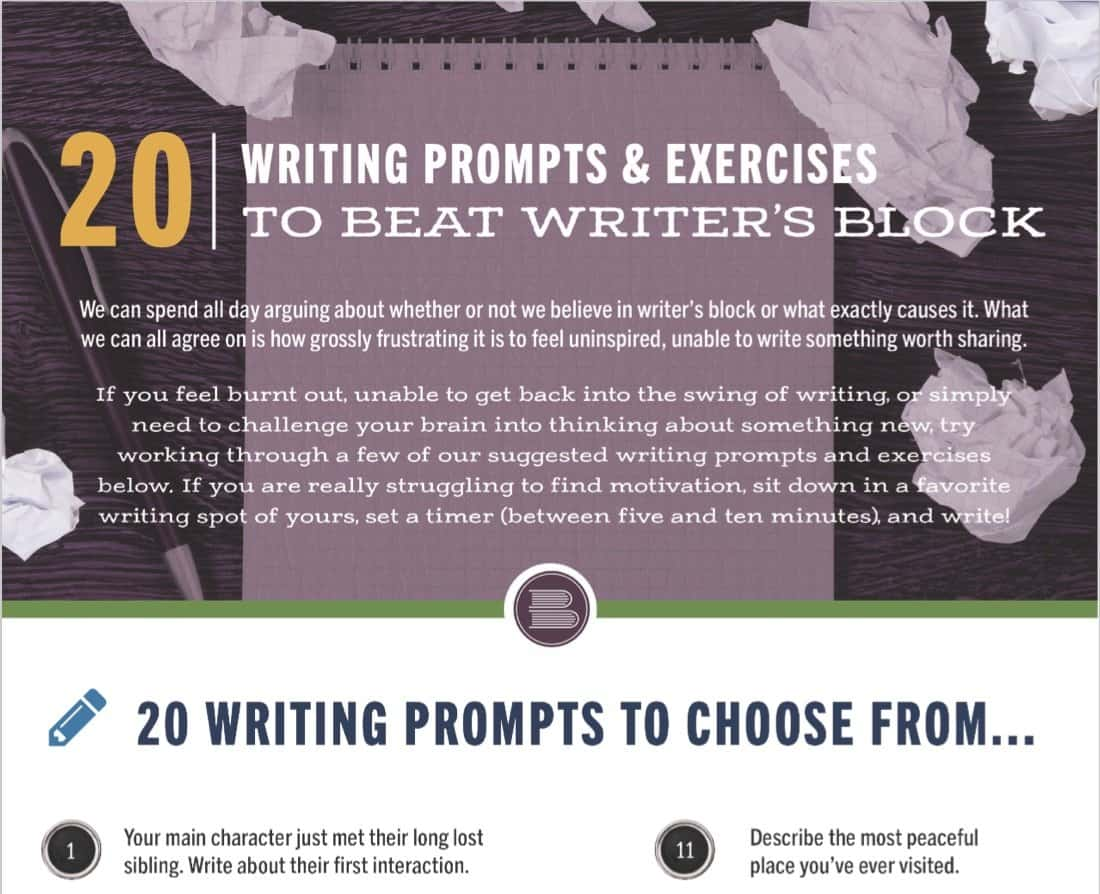 resource-Exercises to Beat <br>Writer's Block